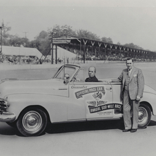The first Chevrolet pace car was a Fleetmaster in 1948