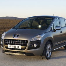 Peugeot 3008 Crossover 2.0 HDi FAP Exclusive