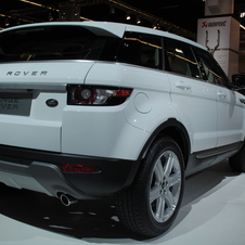 Land Rover Evoque SD4 2.2 Pure 4WD Automatic