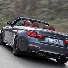 Load capacity increased compared with the previous M3 Convertible to 370 liters