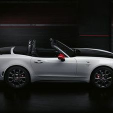 Developed by Abarth Racing Team the 124 Spider gets a more agressive design and a more powerful version of the 1.4-liter MultiAir II