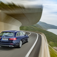 At launch the E-Class Estate will be available with a range that comprises three engines, one diesel and two petrol