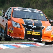 The Avensis began racing in the BTCC in 2012
