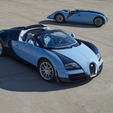 Just three Wimille edition Veyrons will be made