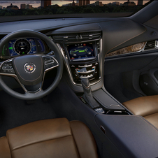 The interior gets a major upgrade over the Volt