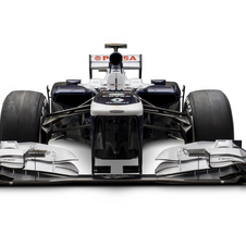 The FW35 has nearly 80% new parts