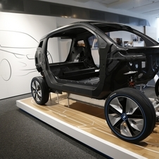 The i3 is the first mass-produced car to use so much carbon fiber reinforced plastic