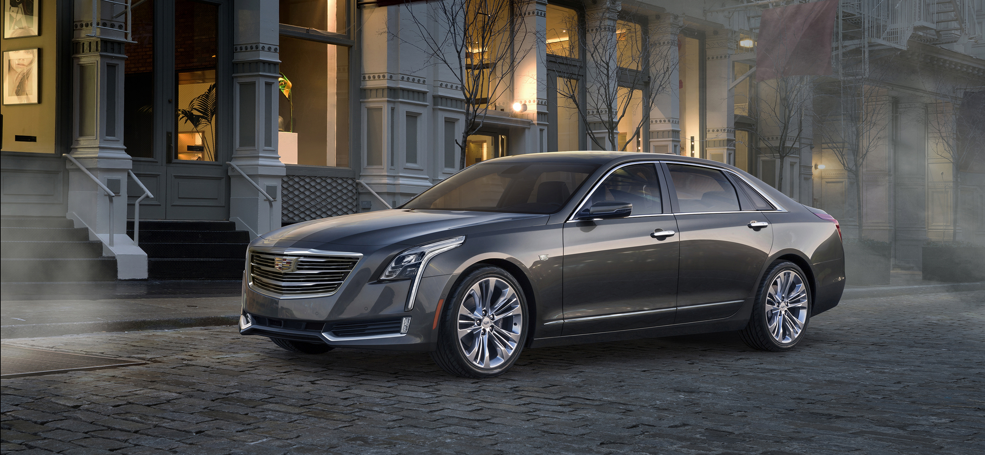Cadillac CT6 3.0L V-6 twin-turbo DOHC DI