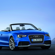 The RS5 Cabriolet takes the standard RS5 and chops the roof off