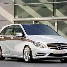 Mercedes-Benz B-Class E-CELL PLUS