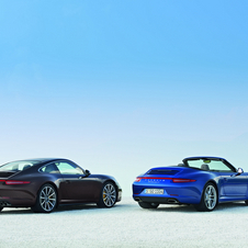 The Coupe and Convertible get slightly wider rearends and rear wheels