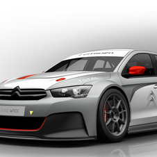 Citroën's WTCC car is based on the C-Elysee