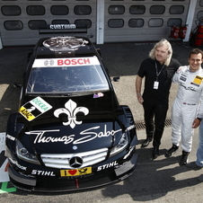 Both drivers have ties to DTM. Michael's brother, Ralf Schumacher, races in DTM, and Rosberg has done demonstrations before