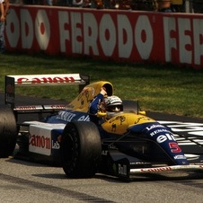Williams FW14B Renault