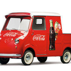 Goggomobil TL-400 Transporter Pick-Up Coca-Cola