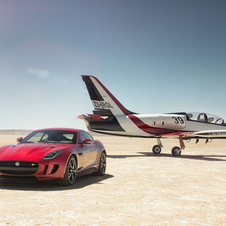 The new F-Type R Coupe AWD will be joining the 14 version range of the model planned for 2015