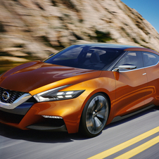The Sport Sedan Concept likely previews the next Maxima