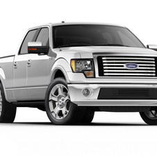 Ford F-Series F-150 145-in. WB Lariat Styleside SuperCab 4x4