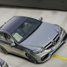 Mercedes revealed the E63 AMG in its E-Class family portrait