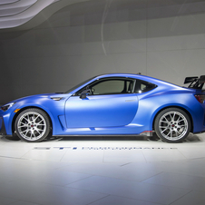 Compared to the BRZ the concept received modifications on suspension, chassis and aerodynamics