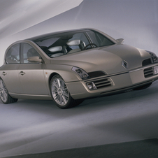 Renault showed a sedan concept called the Initiale in 1995