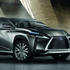 Lexus wins for the weirdest looking concept with the LF-NX