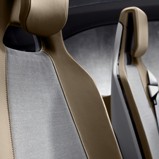Detalhe interior do BMW i3