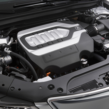 A V6 engine with cylinder deactivation