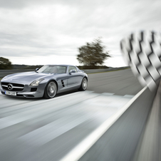 The SLS AMG is the first fully AMG built model