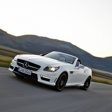 The SLK AMG is meant to be a smaller, more nimble convertible than the SL