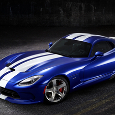 The Viper GTS in blue and white hides the cars lines and makes it look like the previous one