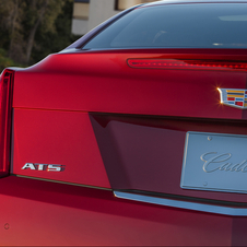 The ATS Coupe is the first car with Cadillac's new emblem