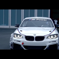 The M235i Racing replaces the M3 GT4 in the BMW racing stable