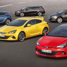The Astra is available in a variety of body styles