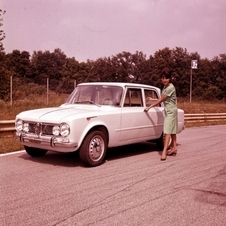 The Giulia went on sale in 1962