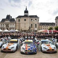 Aston Martin has five cars ready for Le Mans