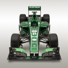 Caterham hopes that other teams limited development will help it