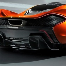 McLaren Releases More Images of P1, Shows Movable Rear Wing