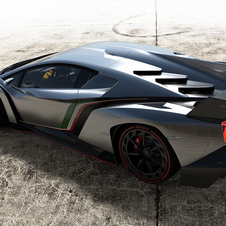 It uses the Aventadors engine pushed to 750ps