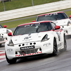 The competitors had to race in 370z and GTR race cars