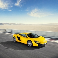 The McLaren 625C was launched in response to customer demand in the Asian region