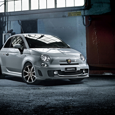 The Fiat Abarth get standard air conditioning, fog lights and rear parking sensor