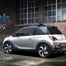 The Opel Rocks is the genesis for the plan for an Adam crossover and convertible