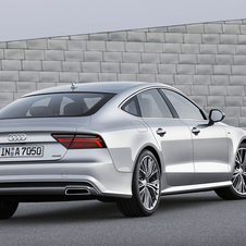 These changes also included the top-of-the-range S7 Sportback