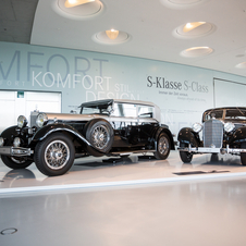 Mercedes pre-war luxury cars were massive