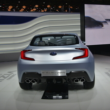 It is also showing a new engine and new five-door hatchback