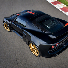 The Lotus Exige LF1 is equipped with high performance Pirelli P-Zero Trofeo tires