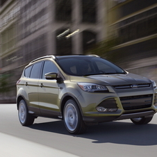 Ford Escape 1.6-liter EcoBoost I-4 AWD
