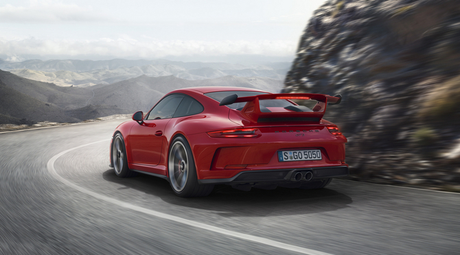 The new 911 GT3 has just beaten its predecessor time at the historic Nürburgring circuit