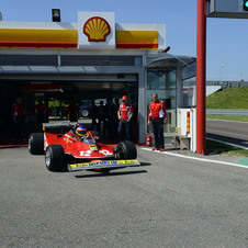 Jacques Villeneuve Laps Fiorano in His Father's Ferrari